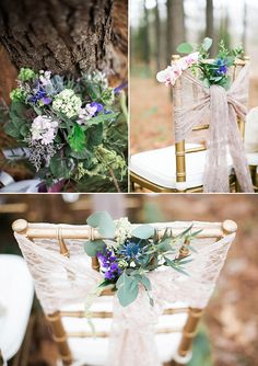Outdoors Woodland Wedding Inspiration - fairytale woodland wedding