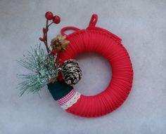 Feliz navidad!!! coronas de trapillo