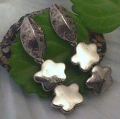 Pendientes  de plata handmade