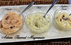 artisan flavored mayonnaise quick recipes