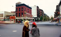 New York, 1978-1980 - Retronaut~~~ 3rd Ave and St. Marks Place, 1980