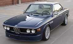 BMW1973 3.0CS with an Alpina 3.5L B11/3 E34 engine. Pure Joy.
