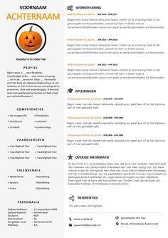 CV Word template met een uniek & professioneel design