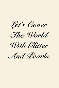Cover the world with Pearls !