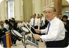 SGI President Ikeda @ Leaders Mtg, Tokyo, Japan