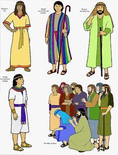 Jozef en zijn broers flanelplaten