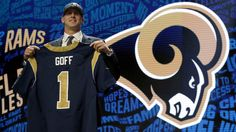 Jared Goff drafted by the #Rams (2016)
