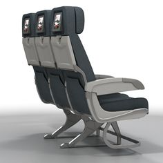 Airplane Chairs Model available on Turbo Squid, the world's leading provider of digital models for visualization, films, television, and games. Airplane Interior, Gaming Chair, Aviation, Retro, Chairs, 3d, Models, Inspired, Templates