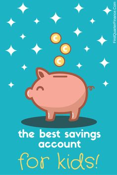 It's always a good idea to start saving early. Check out the best savings account for kids!