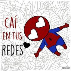 Caí en tus redes - visit to grab an unforgettable cool Super Hero T-Shirt! Funny Love, Cute Love, Postar No Face, Videos Instagram, Fitness Video, Comics Love, Dc Comics, Mr Wonderful, Love Phrases