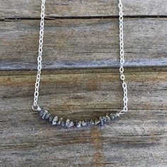 New Raw Grey Diamond Necklace #diamonds #valentines #valentinesday #giftsforher #gifts #ootd #oneofakind #etsy #shop #etsyseller #sparkle #glitter #new #productphotography #picoftheday #diamond #raw #rawdiamond #newdesign #grey #greydiamond #etsyfinds #style #classy #buyherjewelry #valentinesgift