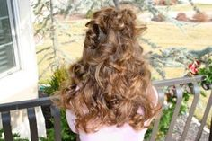 """No-Heat"" Headband Curls - literally, achieve beautiful curls using only a headband!"