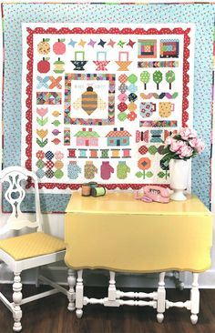 Bee In My Bonnet: The Quilty Fun Sew Along - Week 14 - Neighborhood Houses!!! ...