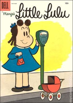 Little Lulu #89 - Published November 1955 by Dell/Gold Key