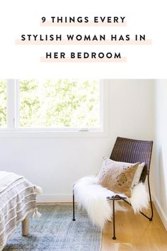 Since we all know a lady (or two) like that, let's take a moment to learn her ways. Behold: Nine items every stylish woman most definitely has in her bedroom. — via @PureWow