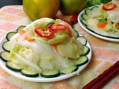 泡菜很開脾胃,是一道很棒的前菜,更是炸豆腐、臭豆腐的最佳搭檔,沒它哪顯得豆腐的美味!