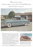 De Soto Fire Dome V-8, 1953 Ad Picture