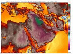 07/31/2015 - Now that's a scorcher! Temperature in Iran hits 165F due to 'heat dome' over Middle East...  while Iraq declares national holiday because it's too hot for people to go to work