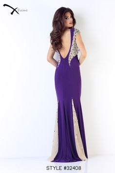 Xtreme Prom 2014 Collection style #32408 #prom #dress #lowback