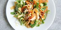La ricetta dell'insalata al salmone e zenzero -cosmopolitan.it