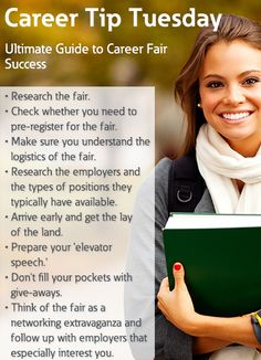 Use these career fair tips to land your next job! | Career ...