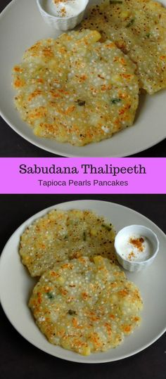 Gluten Free Sabudana Thalipeeth/Tapioca Pearls Pancakes Sabudana Recipes, Aloo Recipes, Spicy Recipes, Cooking Recipes, Healthy Indian Recipes, Vegetarian Recipes, Navratri Recipes, Tapioca Pearls, India