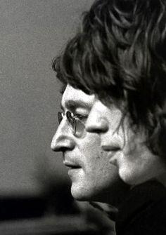 JOHN LENNON et MICK JAGGER