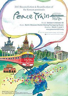 Peace Train 2013 Fukushima, Reunification, Korean Peninsula, Christen, Busan, Kirchen, Beijing, Fiction, Germany