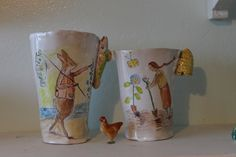 Two first beakers for 2015 Julie Whitmore