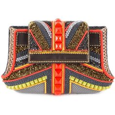 Glider beaded bag (19 925 SEK) ❤ liked on Polyvore