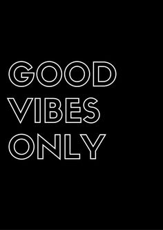 Free Printable: Good Vibes Only