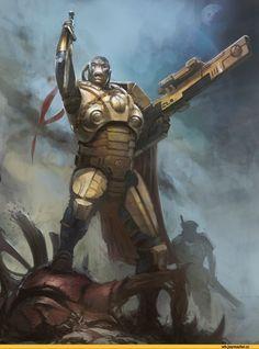 librarium,warhammer 40000,фэндомы,tau empire,продолжение в комментах,Fire warrior