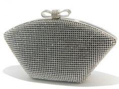 Swarovski crystal wedding clutch | ht