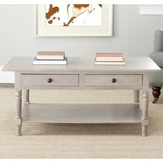 Shop for Safavieh Cape Cod Grey 2-drawer Coffee Table. Get free shipping at Overstock.com - Your Online Furniture Outlet Store! Get 5% in rewards with Club O!