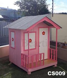 Treehouse, Play Houses, Gazebo, Shed, Outdoor Structures, Toys, Timber House, Crafts For Children, Baby Doll House