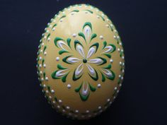 Set of 3 Banty Eggs Pysanky Traditional Polish Eggs by EggstrArt