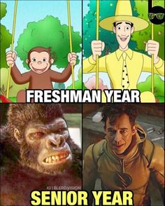 It works out because like he was a little George and is now Grodd. And then like Reverse Flash got stronger!