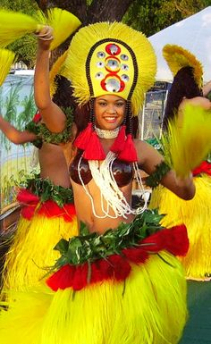 """""""Tahitian Dancing"""" Tells a story with her hips. My sister took lessons when she was a young girl."""