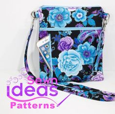 The Zip-Away Cross-body Bag - Sew and Sell!