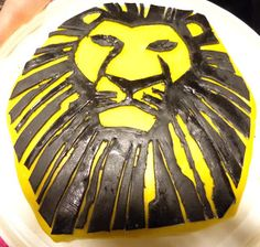 Craft: The Lion King Musical cake