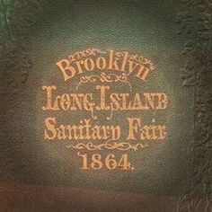 Brooklyn/Long Island Sanitary Fair, 1864