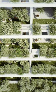 Gallery of Penda Designs Sky Villas with Vertical Gardens for Hyderabad - 18