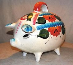 Mexican Piggy Banks are awesome!!!