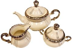 Mitterteich Porcelain Tea Set, 3 Pcs on OneKingsLane.com