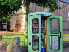 Bookswap booth