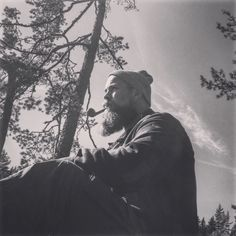 #Beard#nature#tobaccopipe