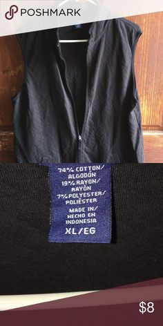 Basic editions black Vest Great for this upcoming season Jackets & Coats Vests