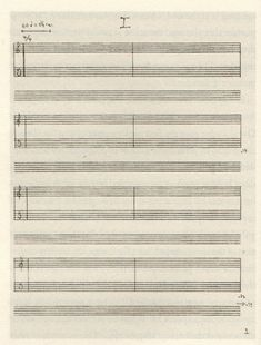 "The score for John Cage's famous 4'33"" music piece."