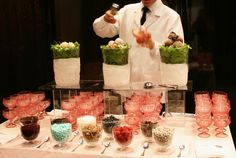 Vintage Ice Cream Sundae Bar (Peter Callahan Catering & Events)