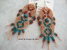 Micro-Macrame by Made In Kansas by Rosi... on Facebook
